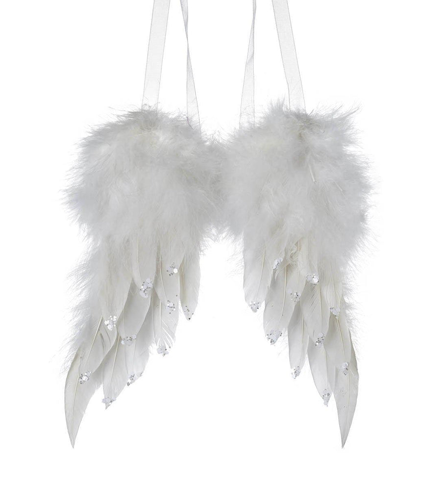 Feather Angel Wings Hanging Decoration