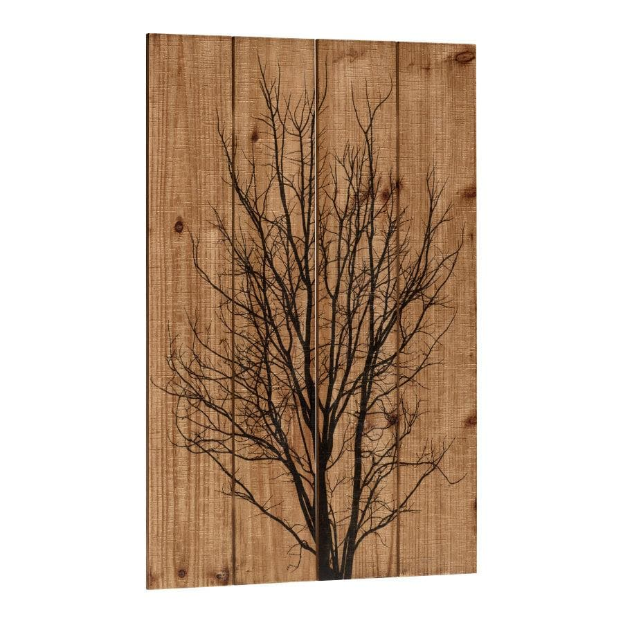 Wooden Tree Silhouette Wall Art | The Farthing 1