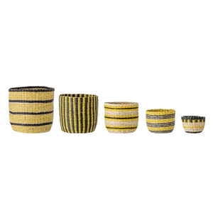 Seagrass Baskets. Set of 5