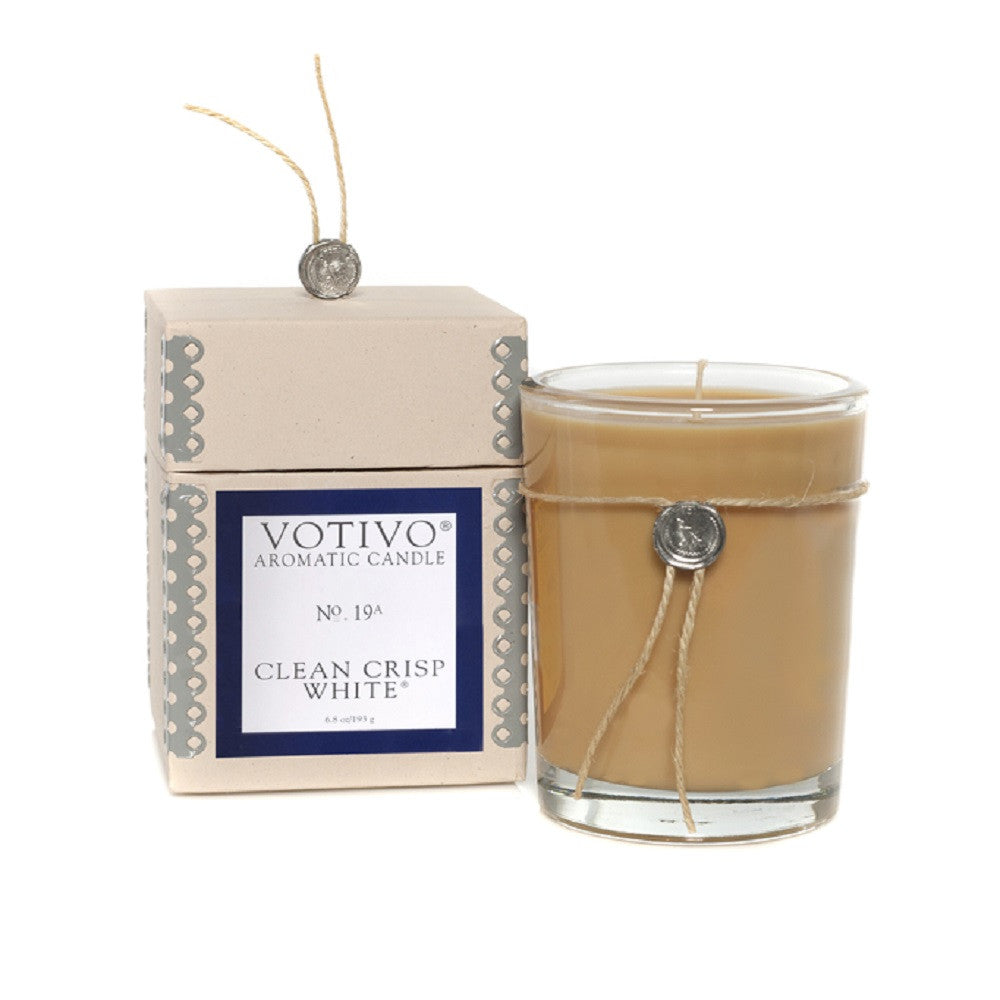 Votivo AROMATIC CANDLE CLEAN CRISP WHITE