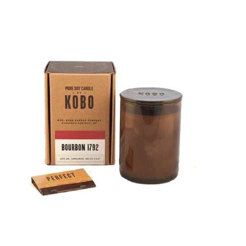 Kobo Bourbon 1972 Kobo Soy Candle - Woodblock Collection