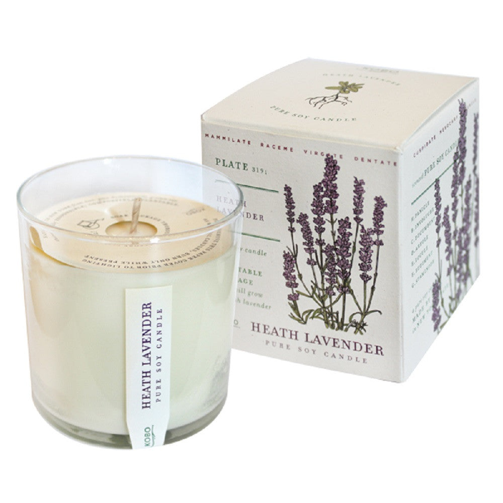 Kobo Heath Lavender Soy Candle