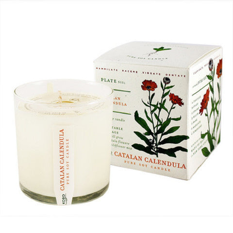 Kobo Catalan Calendula Candle with Plantable Box