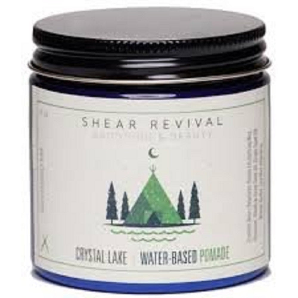 Shear Revival Crystal Lake Water Based Pomade