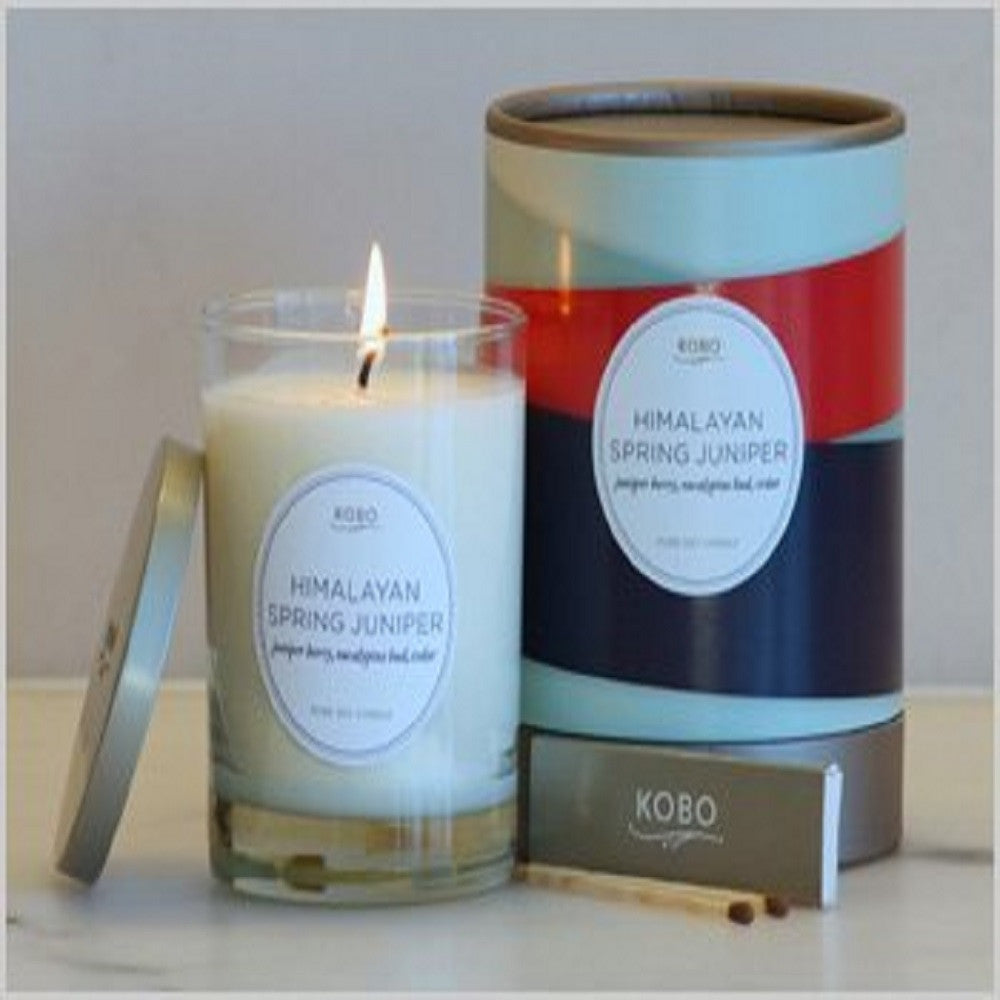 Kobo Himalayan Spring Juniper Pure Soy Candle