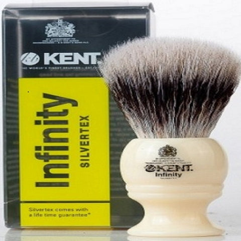 Kent Infinity Silvertex Shaving Brush