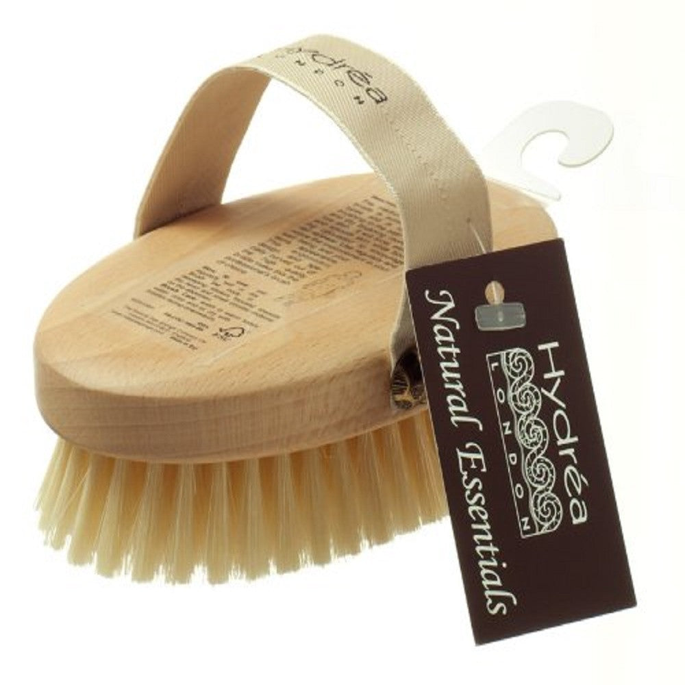 Hydrea Professional Body Brush with Natural Bristle (Medium Strength)