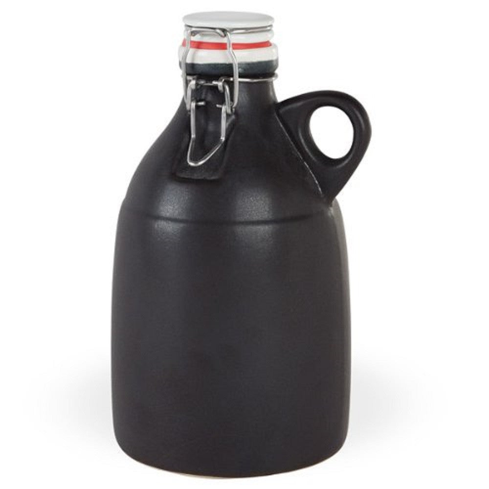 Portland Growler Co. Ceramic Growler Wide Loop Handle 64 oz