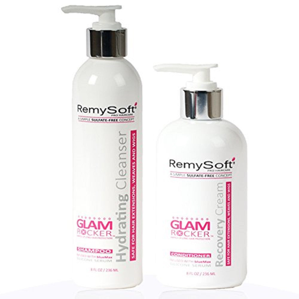 RemySoft Glam Rocker Hydrating Cleanser & Recovery Cream Duo