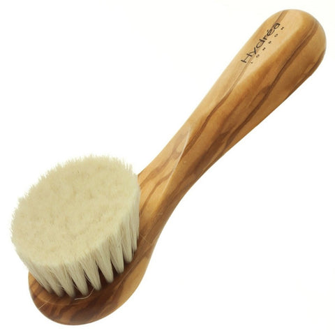 Hydrea London Olive Wood Facial Exfoliating Brush