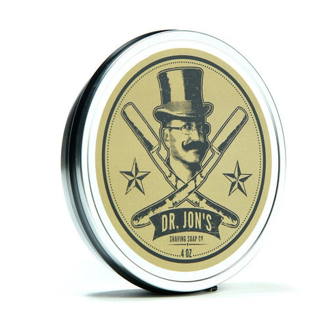 Dr. Jon's Shaving Soap (Gold, 4oz)