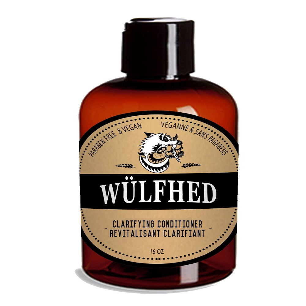Wülfhed Large Clarifying Beard Shampoo & Conditioner 16oz (Conditioner)