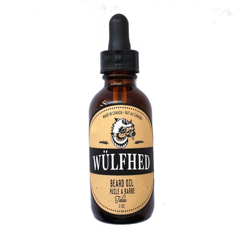 Wülfhed Beard Oil - 2oz Gives You a Respectable Beard That Is Healthy Looking, and Kissable (Tabac)