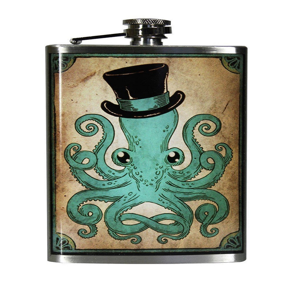Trixie & Milo Gentleman Octopus Flask