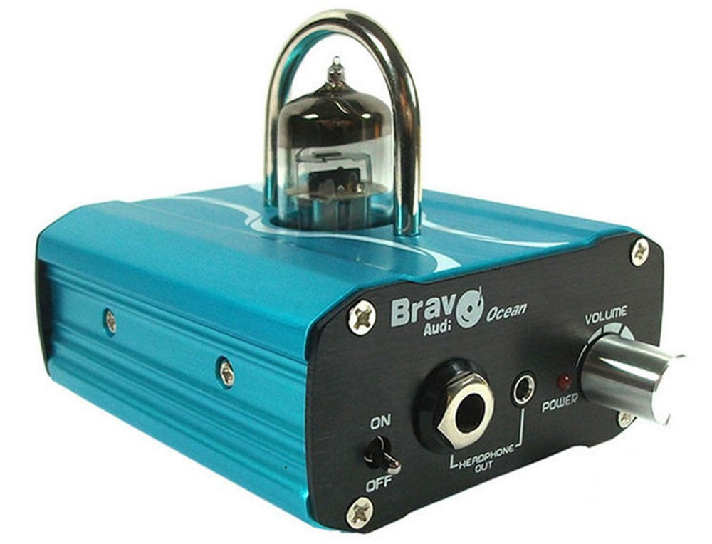 Bravo Audio Ocean Mini Valve Class Tube Headphone Amplifier