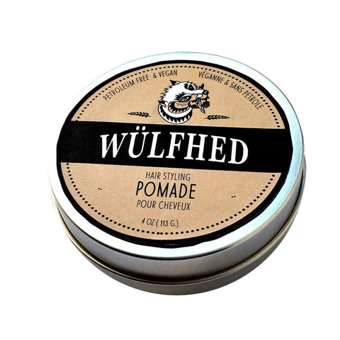 Wülfhed Styling Clay Pomade 4oz for a Good Hold and Shine