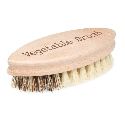 Bürstenhaus Redecker 5.3-inch Hard and Soft Side Vegetable Brush