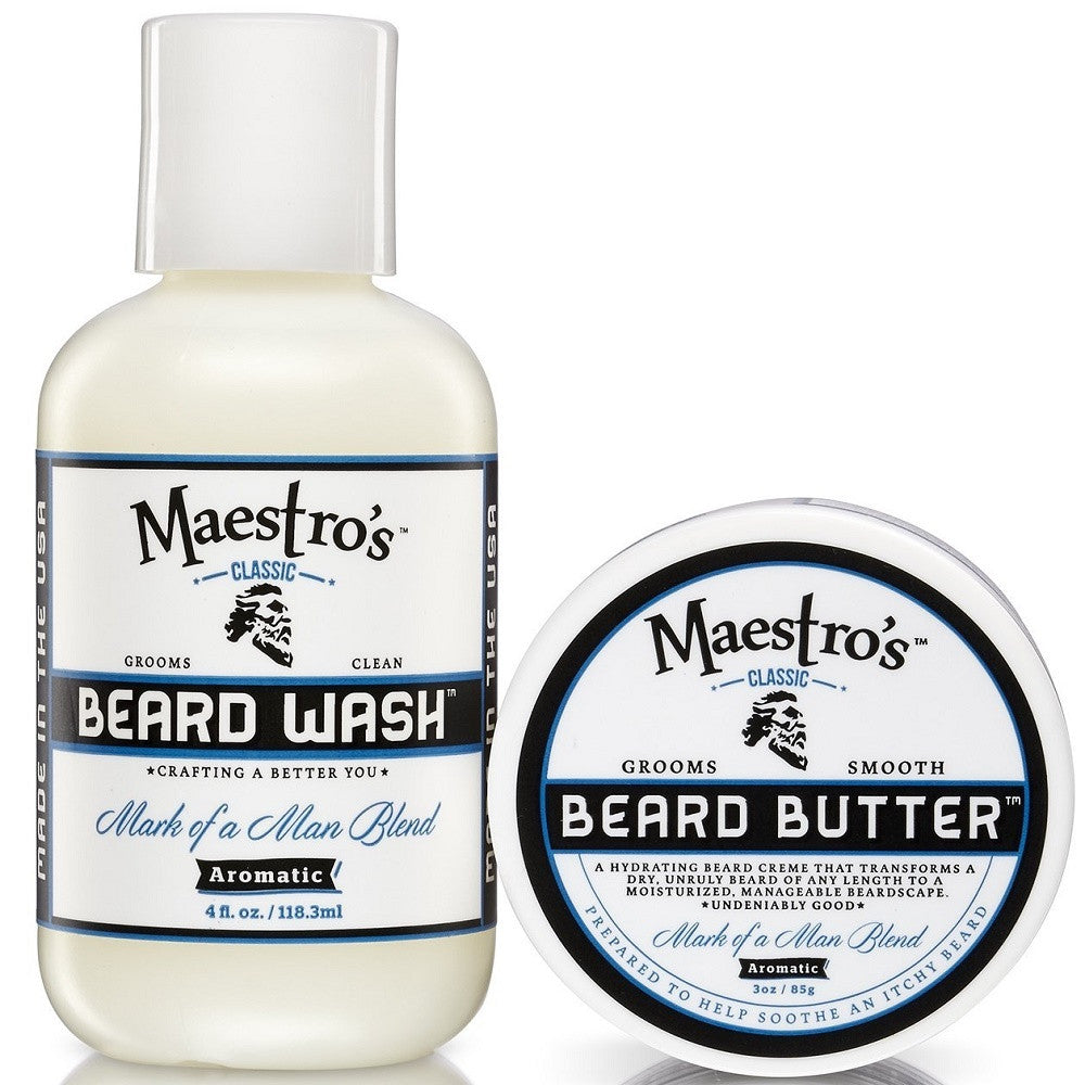Maestro's Classic Mark of a Man Blend Set 3oz. & 4oz.
