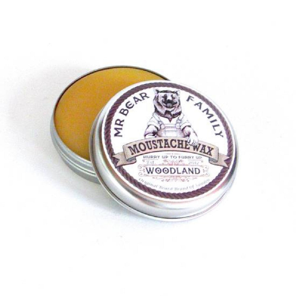 Mr Bear Family Moustache Wax – Woodland