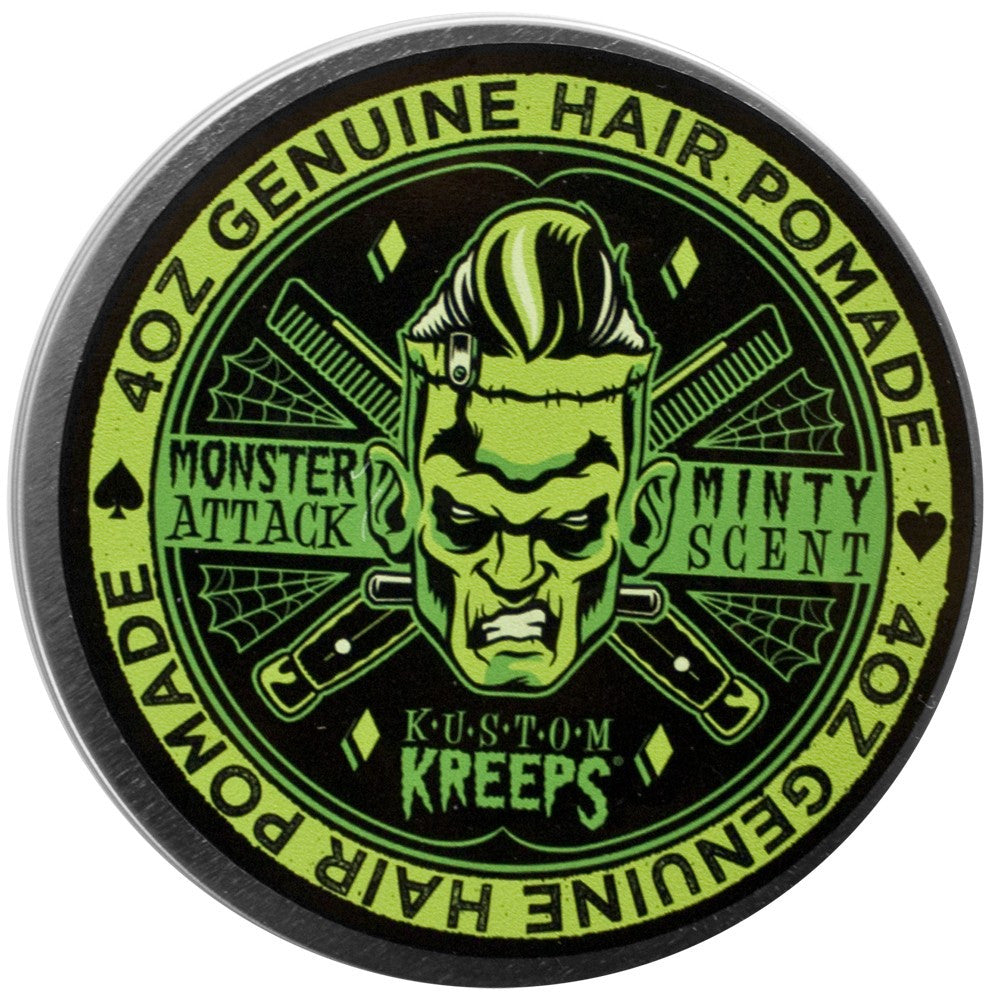 Sourpuss Clothing     KUSTOM KREEPS MONSTER ATTACK MEDIUM POMADE