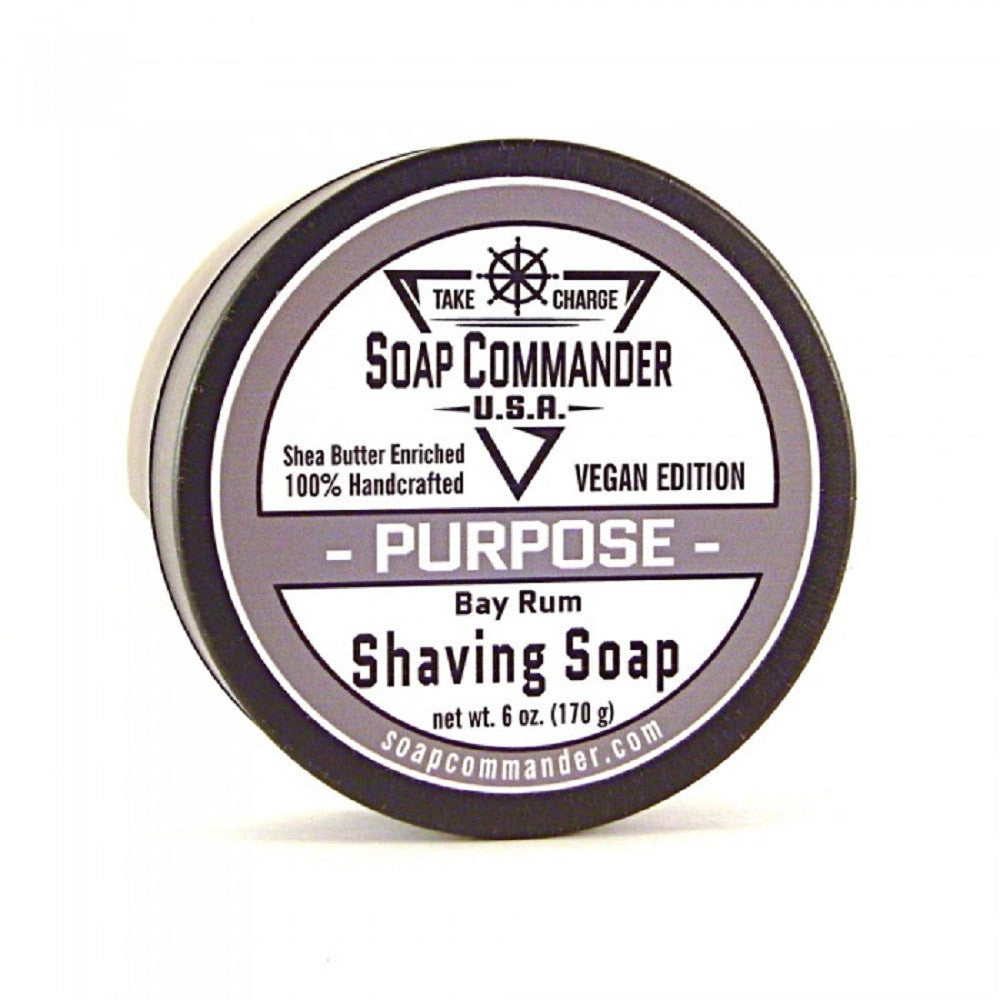 Soap Commander-Purpose 6oz shave soap