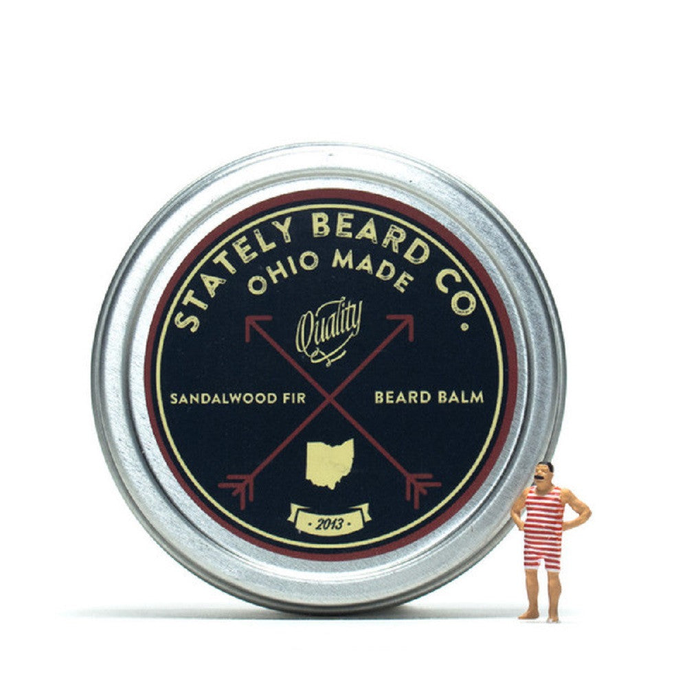 Stately Beard Co Sandalwood Fir Beard Balm