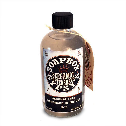 Soapbox Gypsy Bergamot Aftershave