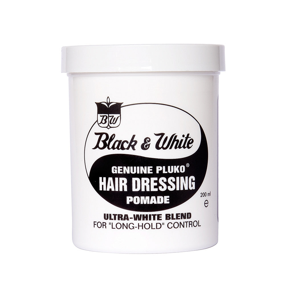 Black and White Pomade 7 oz