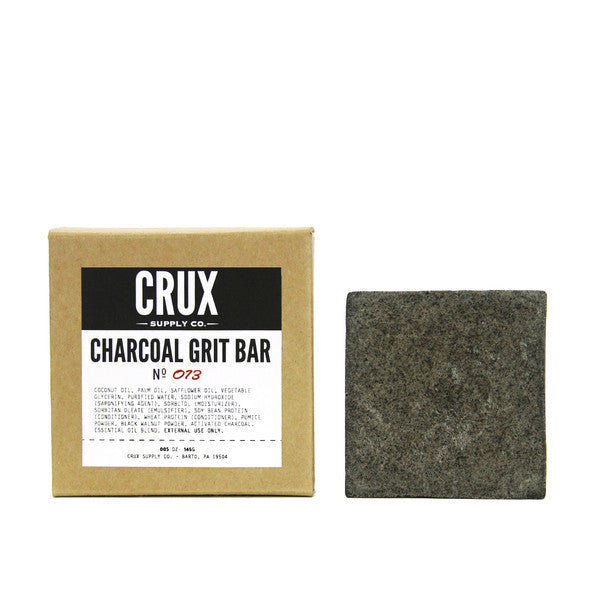 CRUX Supply Co. Charcoal Grit Bar