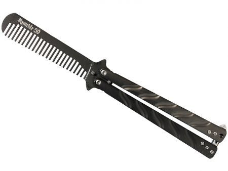 Rumble 59 Schmiere Switchblade Butterfly Hair Comb