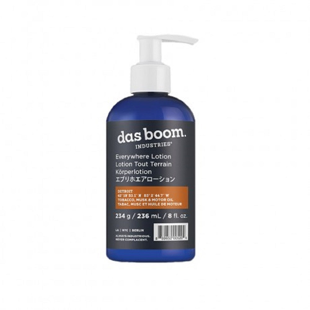das boom industries Everywhere Lotion Detroit