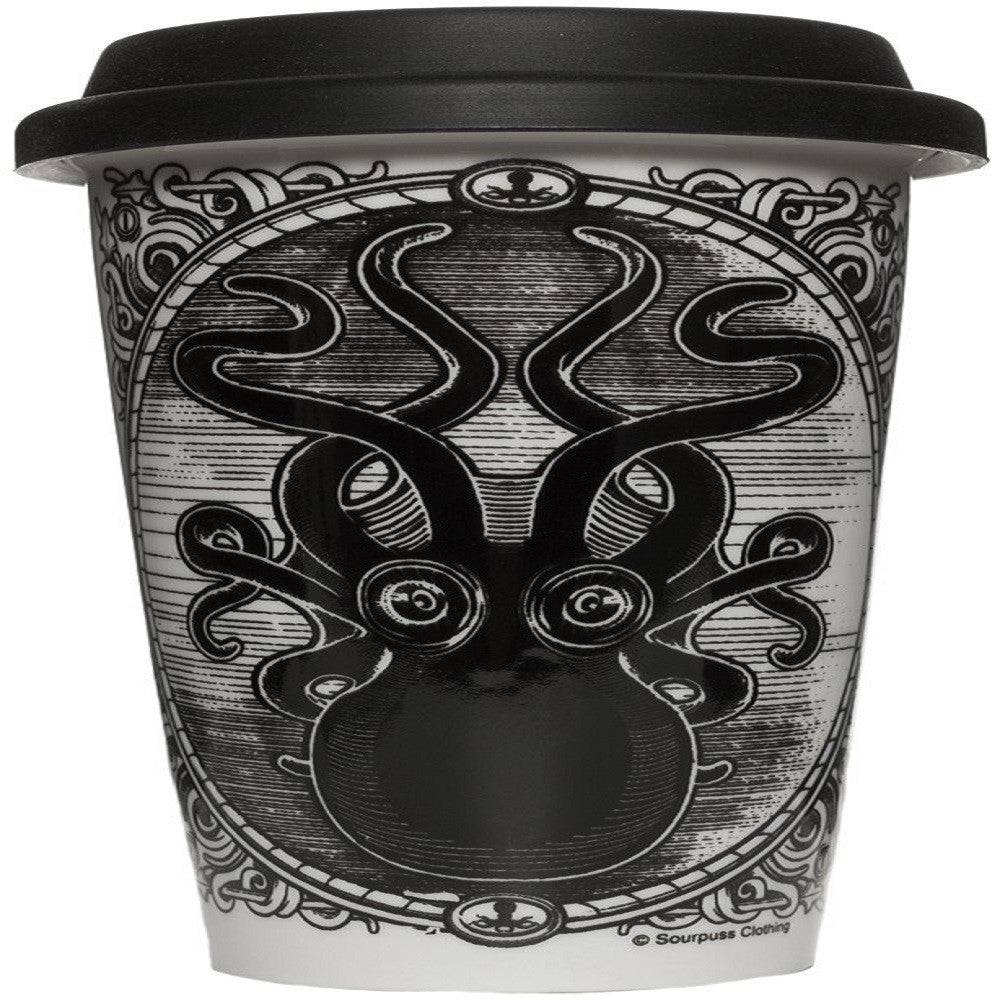 Kraken Up Tumbler by Sourpuss
