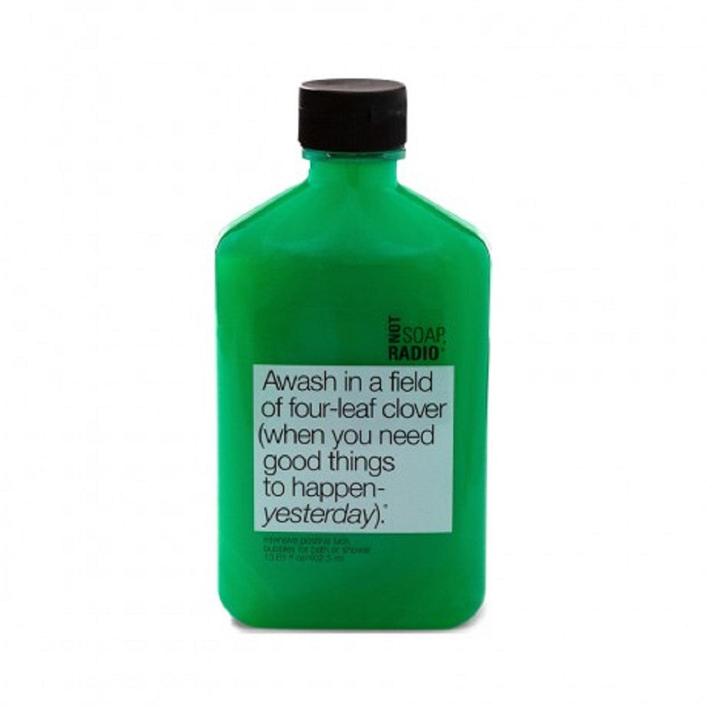 Not Soap, Radio - Awash in a Field of Four-Leaf Clover - Body Wash/Scrub