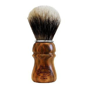 Semogue S.O.C. Cherry Wood Shave Brush - Badger shave brush