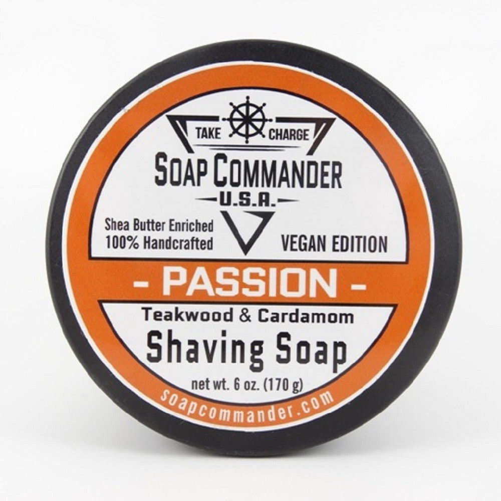 Soap Commander-Passion 6oz shave soap