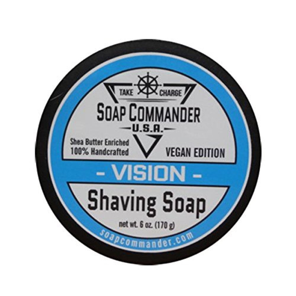 Soap Commander-Vision 6oz shave soap