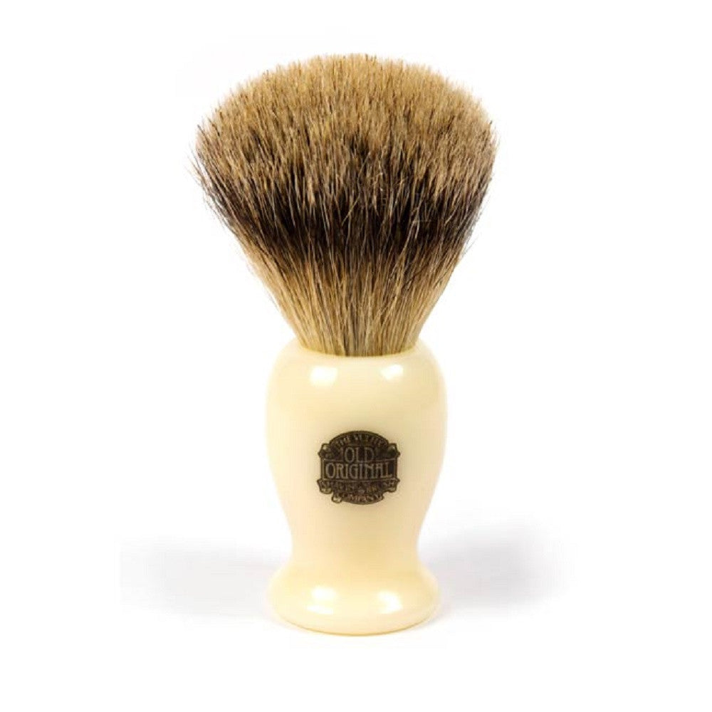 Vulfix 660S Medium Super Badger Shaving Brush (Ivory Medium)