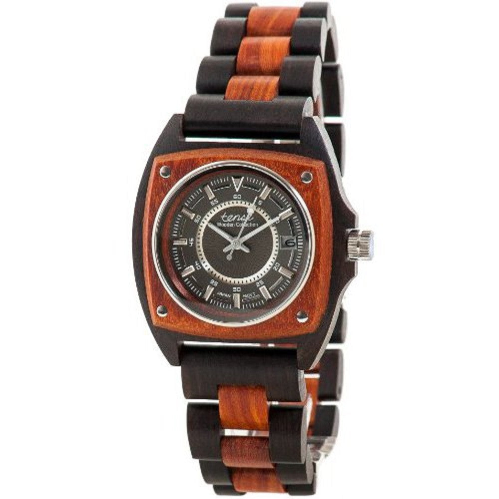 Tense Wood Unique Two-Tone Watch Mens Discovery Trail G4101DS DF