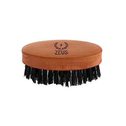 Zeus Oval Boar Bristle Beard & Moustache Brush