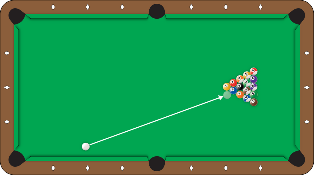 Shot of the Week #5 - Second Ball 8-Ball Break