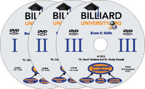Billiard University Instruction Series DVDs