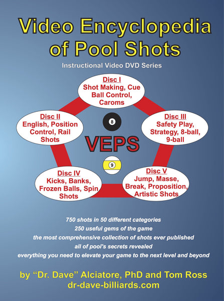 Video Encyclopedia of Pool Shots DVD Series