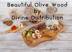 Beautiful Olive Wood by Divine Distribution