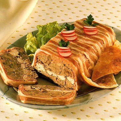 Turkey and Hazelnut Terrine