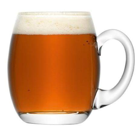 LSA Bar Beer Tankard - 500ml - Clear
