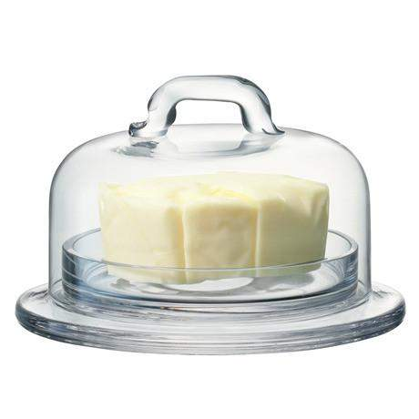 LSA Serve Dish & Cover - Clear