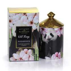 Ashleigh & Burwood Wild Things Candle Pandamonium - Peony, Apple, Jasmine