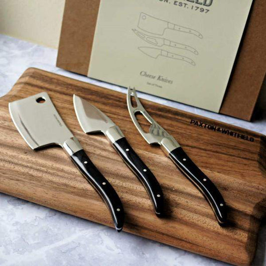 Paxton & Whitfield Paxtons Cheese Knives Set of Three