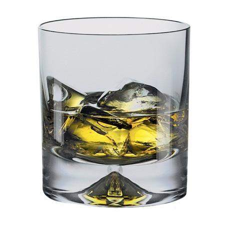 Dartington Dimple - Old FAshioned Glasses - Pair