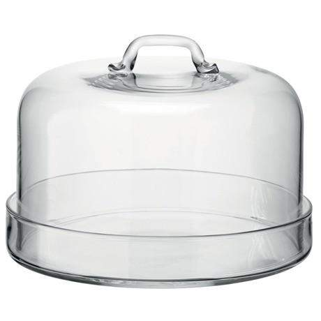 LSA Serve Plate & Dome - 24cm Plate